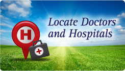 Located Doctors and Hospitals