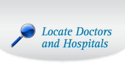 Locate Doctors and Hospitals
